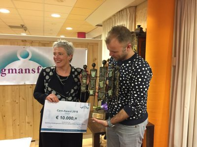 Winnaar Care Award 2016